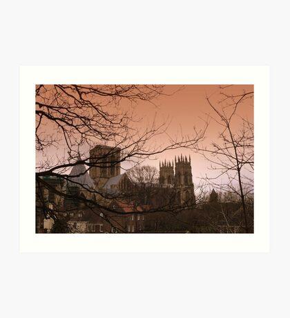 York Minster Art Print