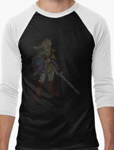 8-Bit Hero - Link Men's Baseball ¾ T-Shirt