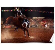 Horseback Poster