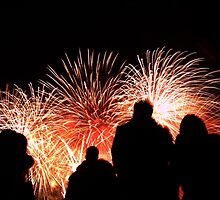 Guy Fawkes Fireworks II by Ludwig Wagner