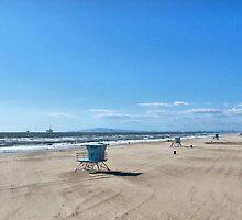 Huntington Beach winter winds by Joni  Rae