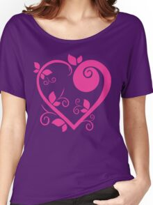 Stylish Heart Women's Relaxed Fit T-Shirt