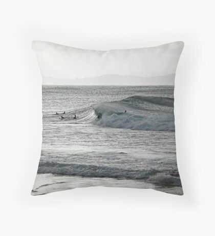 Down the line... Throw Pillow
