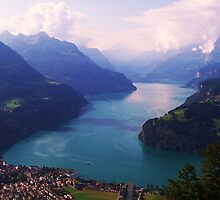 Swiss Mountain Lake by MichelleRees