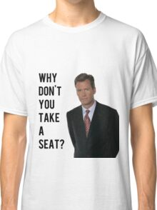 Chris Hansen Why don't you take a seat Classic T-Shirt