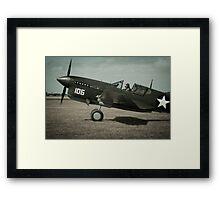 Merlin Warhawk Framed Print