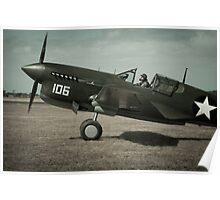 Merlin Warhawk Poster