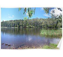 Sheba Dams, Hanging Rock (Nundle) NSW Poster