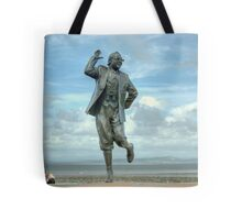 A Lancashire Lad by the Seaside Tote Bag
