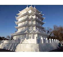 Snow Sculpture, Harbin, China Photographic Print