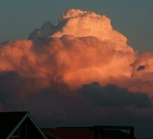 Stormy Pink Cloud by MichelleRees