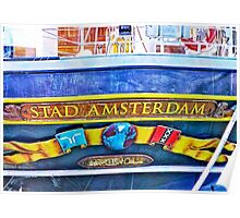 Stad Amsterdam Poster