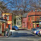 Streets of Salem, MA by Monica M. Scanlan