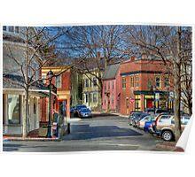 Streets of Salem, MA Poster