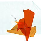 kite on paper sky by cmariani
