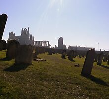 Whitby Abbey, from St Mary's Churchyard by ArtisanArts