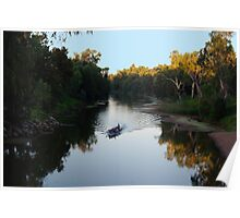 PADDLING THE MACQUARIE Poster