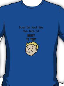 Vault Boy's Face Of Mercy T-Shirt