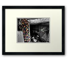 Death to abandoned #3 Framed Print