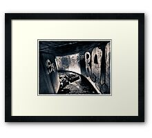 Death to abandoned #5 Framed Print