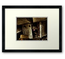 Death to abandoned #6 Framed Print