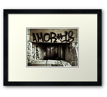 Death to abandoned #7 Framed Print