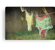 .laundry day (pt.2). Canvas Print