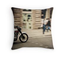 Triumph Scrambler Throw Pillow