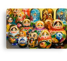 Matryoshka Dolls Canvas Print