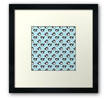 Shark Time Framed Print