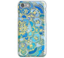 Blue Sapphire Mandalas (Customer Request) iPhone Case/Skin