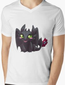 Toothless Mens V-Neck T-Shirt