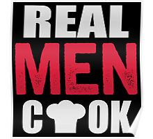 Real men cook Poster