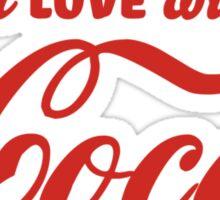 I'm in love... Sticker