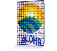 Aloha Hawaiian Flavor Greeting Card