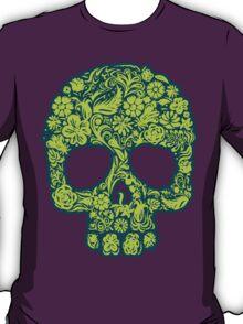 Flowery Skull T-Shirt