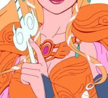 Zelda, Warrior Princess Sticker