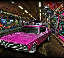 Pink Pimp Chev by Dane Walker