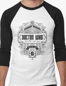 Doctor Who All the Time and Space Vintage Men's Baseball ¾ T-Shirt