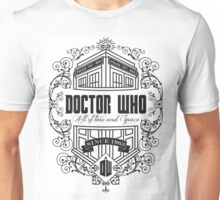 Doctor Who All the Time and Space Vintage Unisex T-Shirt
