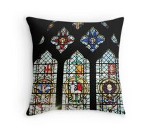 The Easter Window Throw Pillow