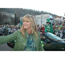 Bo Derek at the St Pat's Parade 2010 Photographic Print