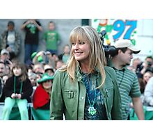 Bo Derek at the St Pat's Parade 2 Photographic Print