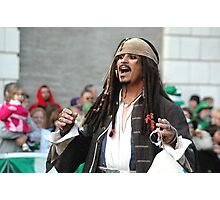 2010 St Pat's Parade Pirate Photographic Print