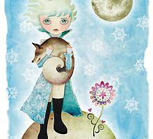 Wintry Little Prince by sandygrafik