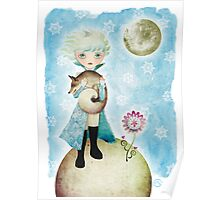 Wintry Little Prince Poster