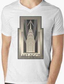 Art Deco Chrysler Building Mens V-Neck T-Shirt