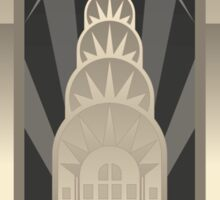 Art Deco Chrysler Building Sticker