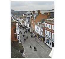 Guildford View Poster