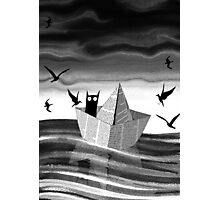 Paper Boat Photographic Print